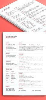 Free Indesign Resume Template Creative Resume Template For Free