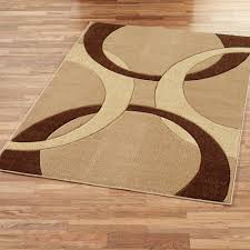 corfu contemporary rectangle rug brown modern area rug brown solid