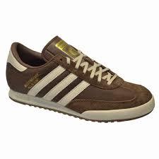 details about adidas originals beckenbauer allround mens trainers brown leather mens uk sizes