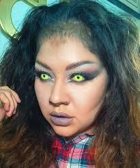 halloween wolf makeup