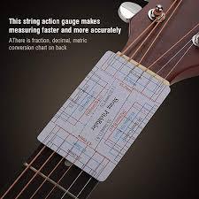 Bass Conversion Chart Amazon Com Bnineteenteam Multi Function Guitar String Gauge