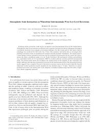 Pdf Atmospheric Scale Interaction On Wintertime