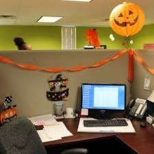 office halloween decoration ideas. Halloween Pumpkins Hanging In Office From Getitcutcom Decoration Ideas