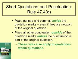 Punctuation After Quotations Major Magdalene Project Org