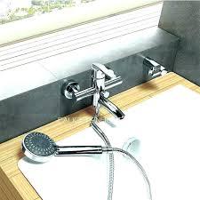 tub spout with handheld shower tub faucet shower attachment handheld shower head attaches to your bathtub tub spout with handheld