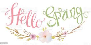 Hand Drawn Lettering Hello Spring Stock Illustration - Download Image Now -  iStock