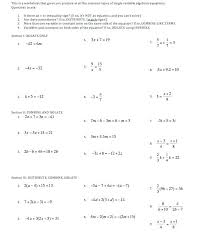 solving multi step equations worksheet answers 2 3 worksheets algebra for all