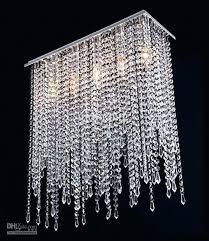 glass crystal chandelier drop celeste bronze round