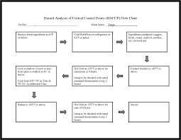 Haccp Plan Template Marketing Activities Flow Chart In Formation 307729461234 Haccp