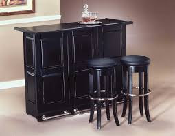 at home bar furniture. Image Of: Home Bar Liquor Black Cabinet With Stools At Furniture -