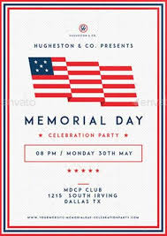 Download The Best Memorial Day Flyer Templates For Photoshop