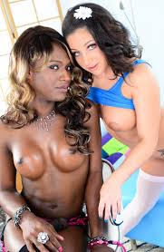 Black shemale fucks white girl photo 4 aShemaletube