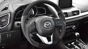 3rd gen mazda3 steering wheel wrap kit
