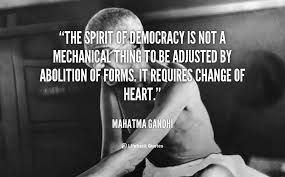 quotes about importance of democracy quotes