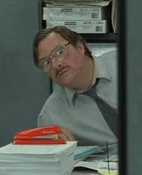 office space picture. Simple Picture Office Space  Milton U0026 His Stapler For Picture E