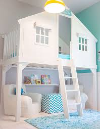 House Bunk Bed An Ikea Mydal Bunk Bed Hack Transformed To A Childrens Playhouse