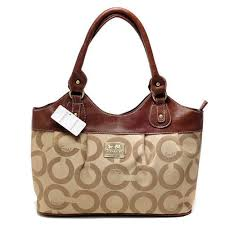 ... coach in monogram medium khaki satchels bxh