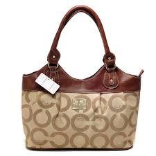 ... brown purple  coach in monogram medium khaki satchels bxh