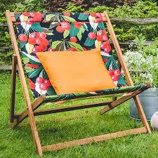 extra large deckchair garden furniture