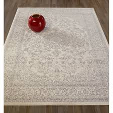 impressive ophelia co zander medallion ivorygrey area rug reviews within medallion area rug attractive
