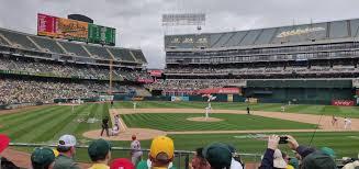 Ringcentral Coliseum Section 115 Oakland Athletics