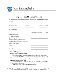 Employee Clearance Form Images Gallery >> Sample Employee Clearance ...