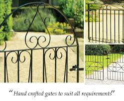 4ft high westminster arched garden gate metal gates for
