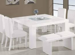 dining : Beautiful White Circle Dining Tables Print Of Beautiful ...