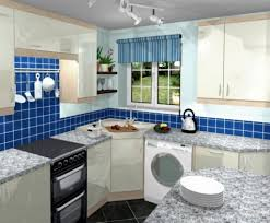 corner sink kitchen design. Small L-Shaped Kitchen Design With Corner Sink O
