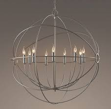 innovative circular chandelier lighting foucaults iron orb intended for large round chandeliers gallery 10