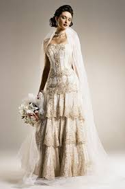 How To Look Classy In Vintage Inspired Wedding Dresses Ava
