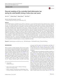 (PDF) Physical modeling of the controlled shaft deformation law ...