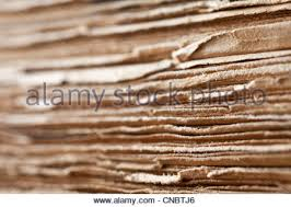 old book edge stock photo