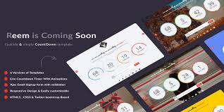 countdown templates fastreem coming soon countdown template codester