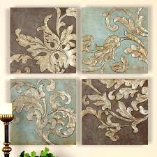 set of 3 wall art set of four wall art floral canvas wall art damask scroll  on damask framed wall art with set of 3 wall art mark 8 max framed wall art set of 3 set of 3 wall
