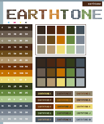 Colourtone Colour Chart Earth Tone Color Schemes Color Combinations Color Palettes