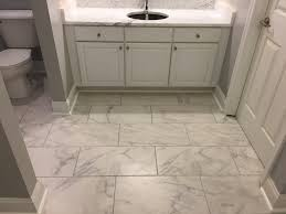 arley anatolia classic collection in carrara with white carrara marble vanity top