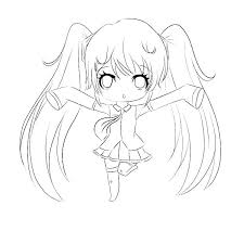 Coloring Pages Cute Girls Uncategorized Vocal R