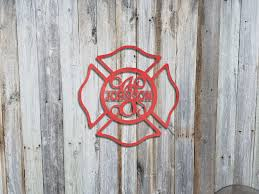 fireman s firefighter shield maltese cross with name and initial in center advanced metal art  on maltese cross firefighter metal wall art with products tagged maltese advanced metal art