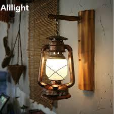 interior lantern lighting. Vintage Hand Crafted Iron Lantern Led E27 Wall Lamp For Bar Entrance Restaurant Aisle Lights Sconce Indoor Lighting Fixture Interior
