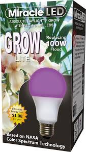 Horticultural Led Grow Lights Walmart Miracle Led Red And Blue Spectrum Led Grow Lite Replaced