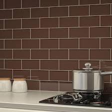 classic brown subway glass tile wholers usa rh wholersusainc com travertine brown glass mosaic kitchen backsplash tile 12 x12 sheet travertine