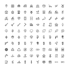 The Agriculture Ecology Icons 100 By The Store On At Creativemarket