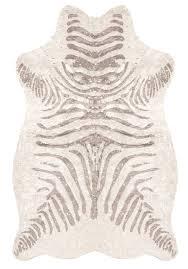 silver metallic rug silver metallic faux zebra hide rug 1 metallic silver round rug