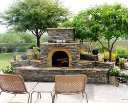 easy outdoor fireplace ideas for awesome simple outdoor fireplace designs