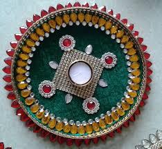 Kundan Decorated Plates Kundan Decorated Plates