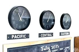 time zones wall clocks time zone wall clock how to create clocks the house of wood