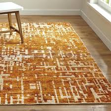 crate and barrell rugs orange hand knotted rug crate and barrel in area rugs decor crate