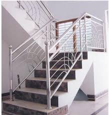Stainless Steel Railing Design For Stairs, Price Patna Bihar