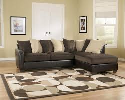 ... Brown Cream Colored Sectional Sofa ...